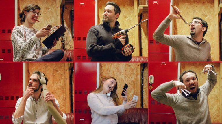 L'équipe de fous indépendants de L'Atelier des Énigmes, escape game à Annecy