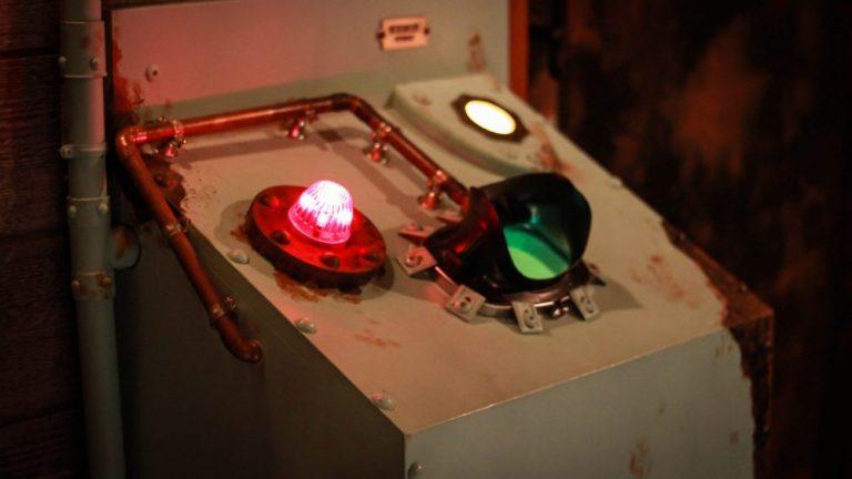 Décor de l'escape game Celestia intercomscope